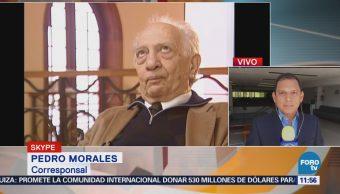 Creman los restos del escritor Sergio Pitol