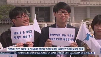 Cumbre histórica entre Corea del Norte y Corea del Sur