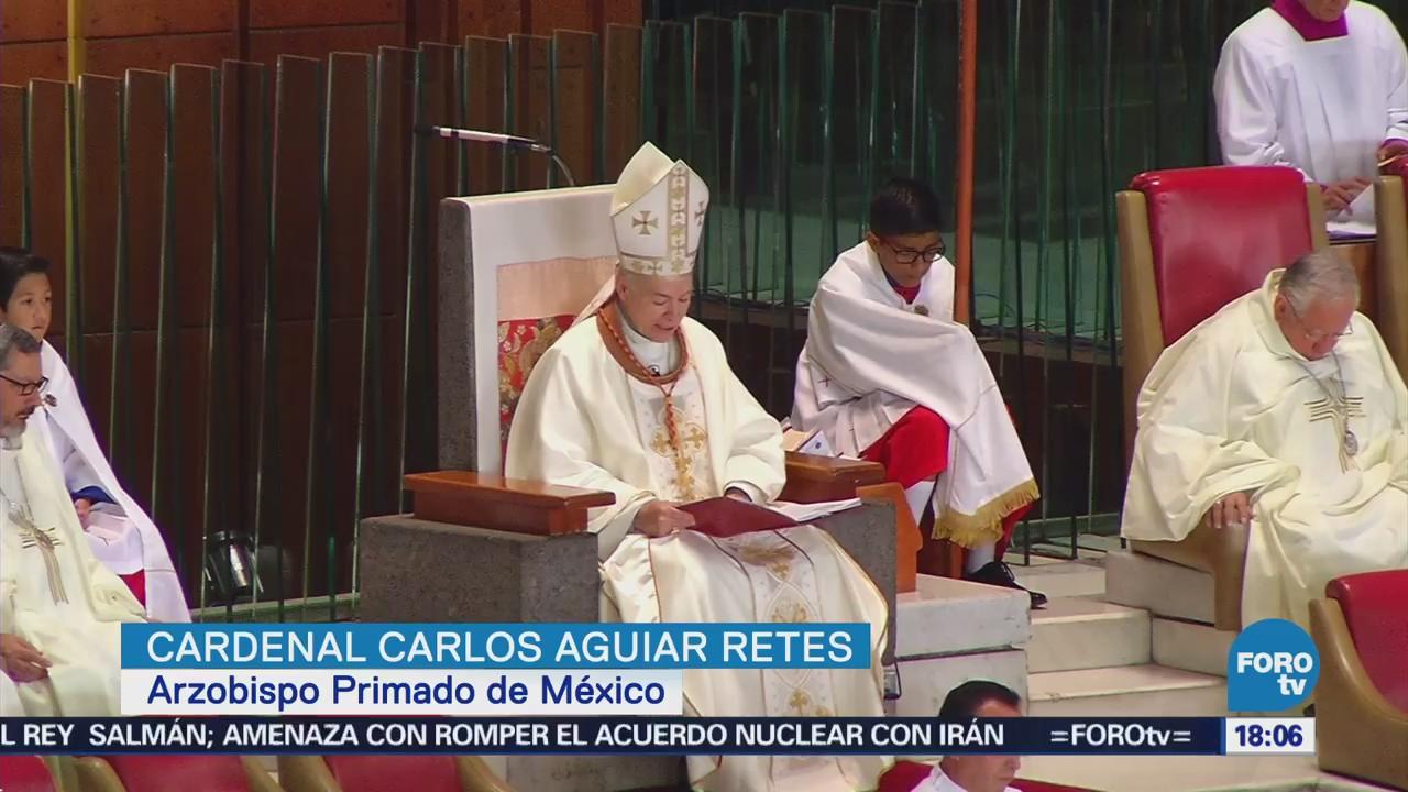 Estar Abiertos Ayudar: Arzobispo Primado México