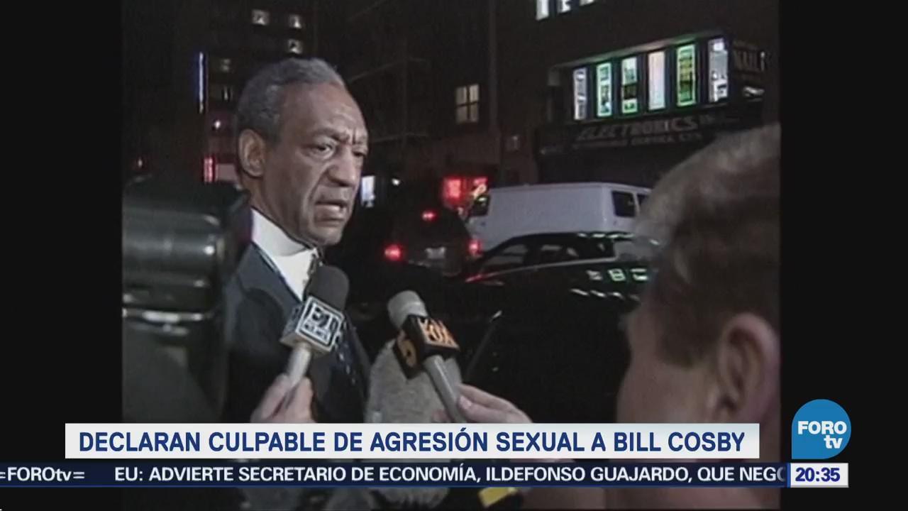 Declaran Culpable Agresión Sexual Bill Cosby