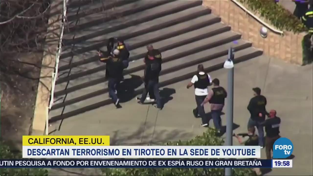 Descartan Terrorismo Ataque Sede Youtube