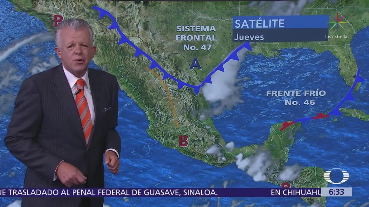 Despierta con Tiempo: Prevén lluvias, granizo y fuertes vientos en el sureste