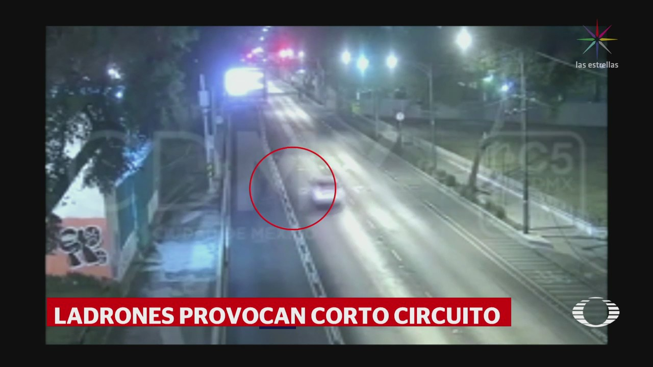Detienen Presunto Ladrón Cable Trolebús Cdmx