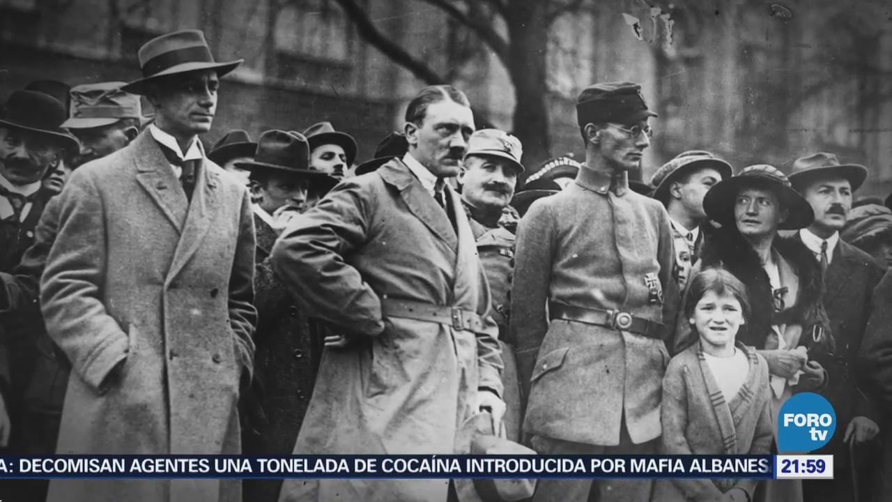 Efeméride En Una Hora Muerte de Adolfo Hitler