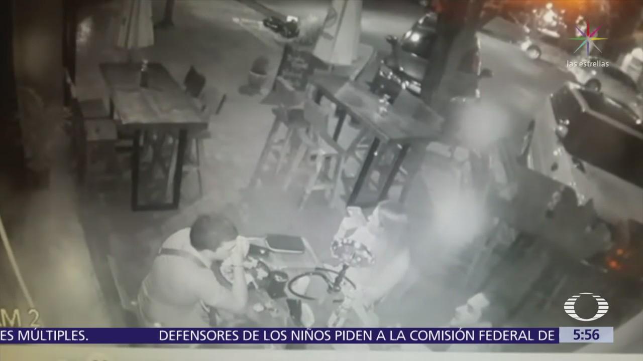Ejecutan a empresario en restaurante de San Pedro Garza García, Nuevo León