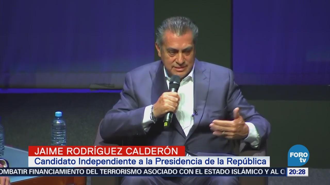 Próximo Presidente Saber Escuchar Jaime Rodríguez Bronco