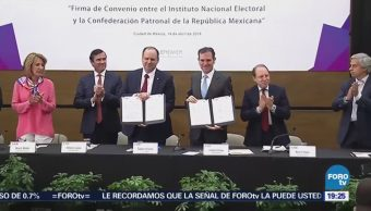 Sector Privado Candidatos Consentidos Preferencias Coparmex