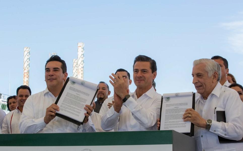 Peña Nieto declara Zonas Económicas Especiales en Campeche y Tabasco
