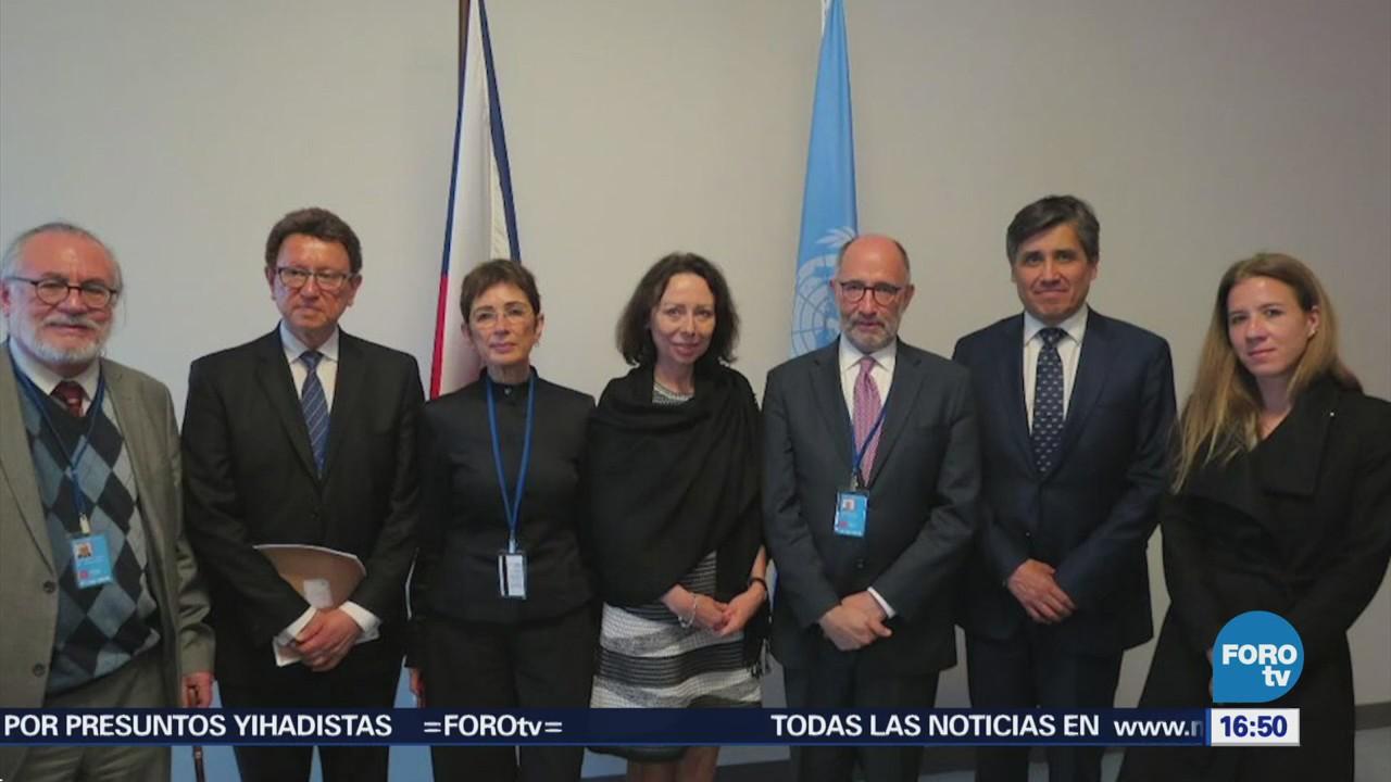 Entregan Secretario General ONU Carta Obligaciones Personas