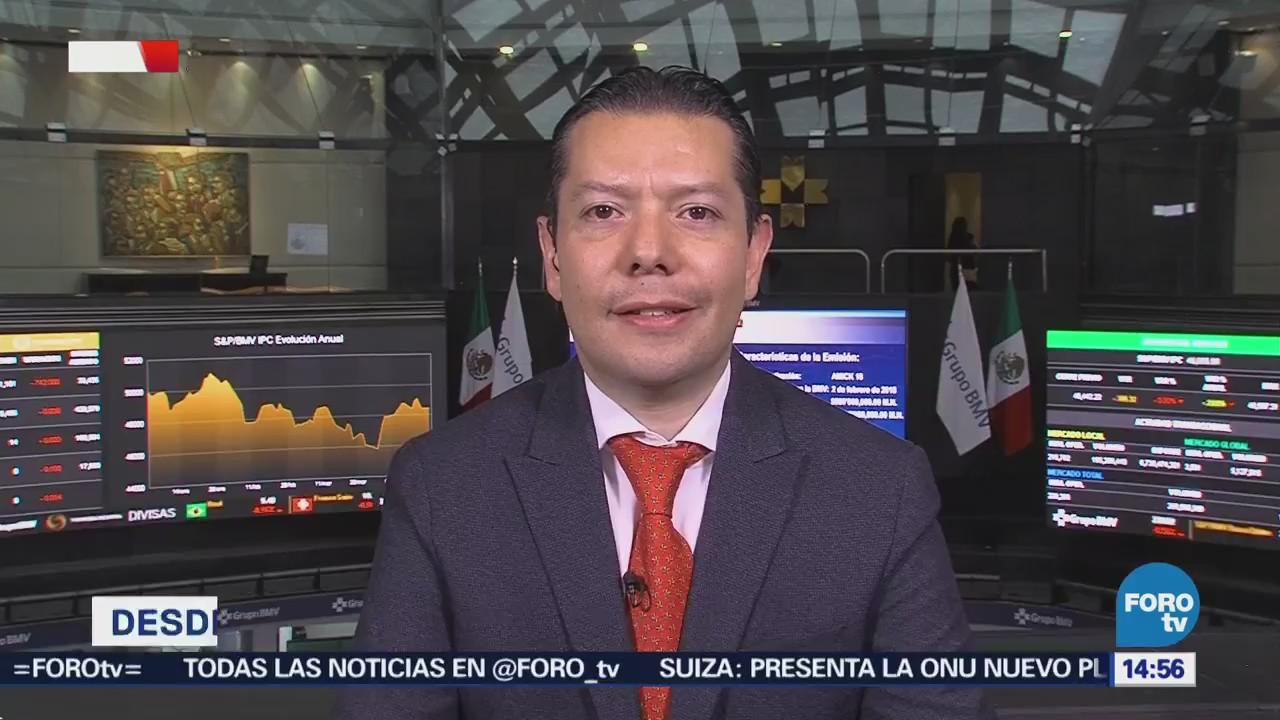 Explican depreciación peso frente dólar, Carlos González Tabares, analista financiero