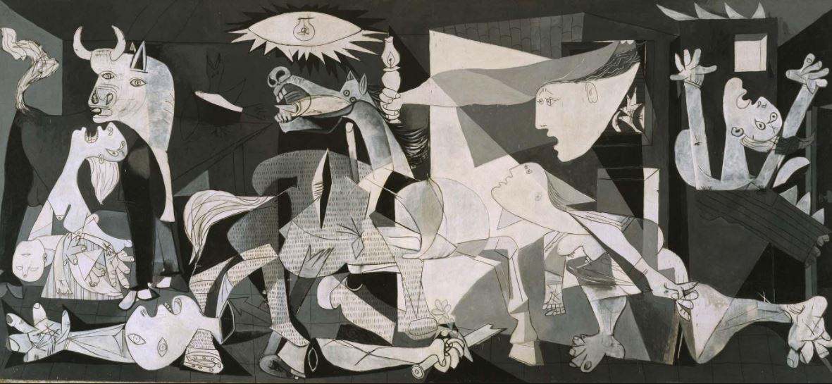 """""""Guernica"""", la primera pintura política de Pablo Picasso"""