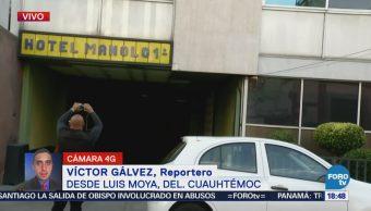 Hallan a una mujer muerta en un hotel de la Cuauhtémoc, CDMX