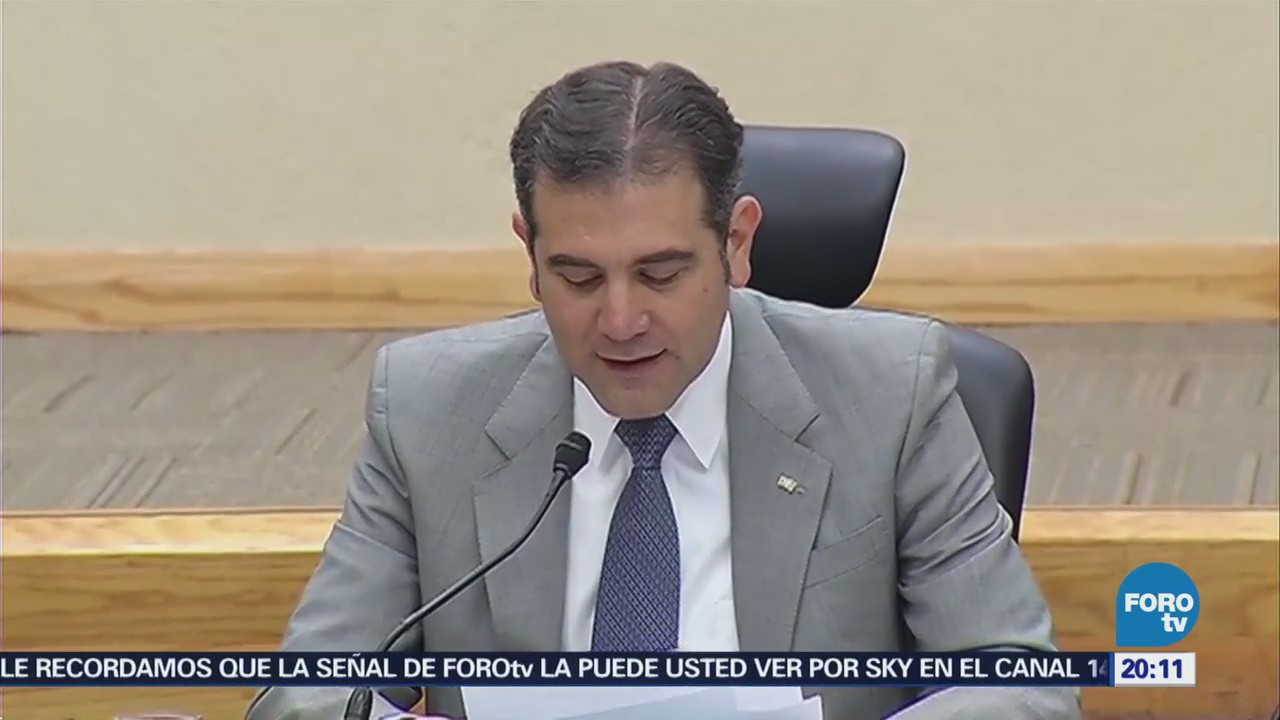 INE defenderá su autonomía frente a intentos de incidir Lorenzo Córdova