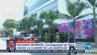 Ivanka Trump Destaca Cumbre Américas Ricardo Burgos