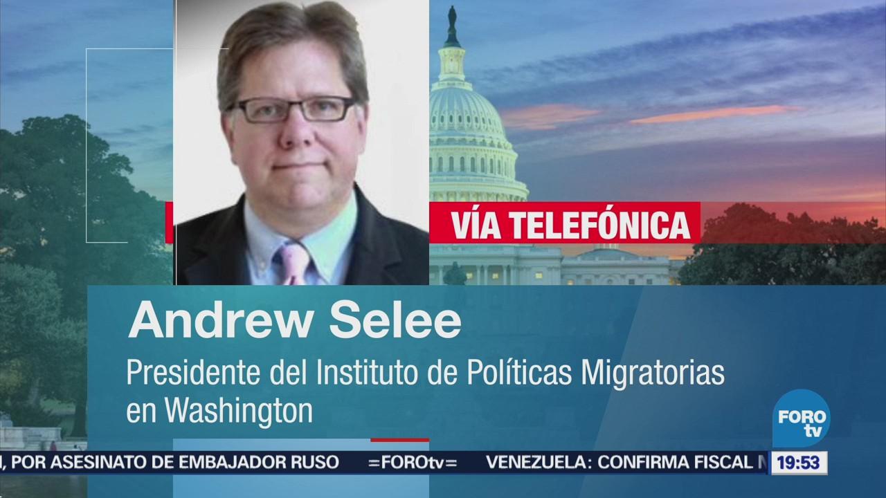 Polémica Migratoria Eu México Entrevista Andrew Selee
