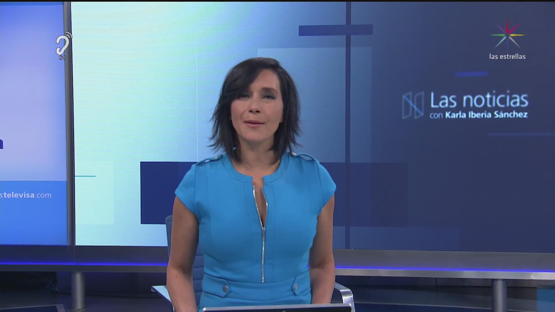 Las Noticias, con Karla Iberia: Programa del 10 de abril de 2017