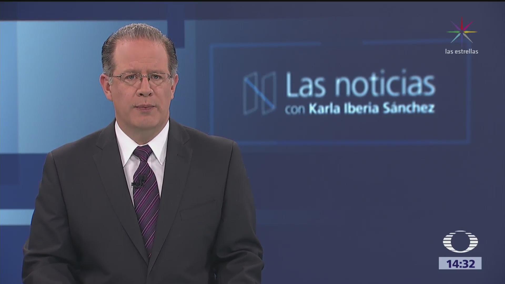 Las Noticias con Karla Iberia Programa del 26 de abril de 2018