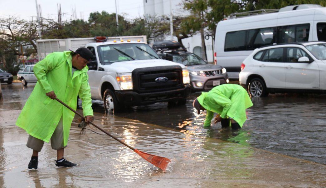 Frente frío 47 provoca lluvias en Q Roo y Yucatán