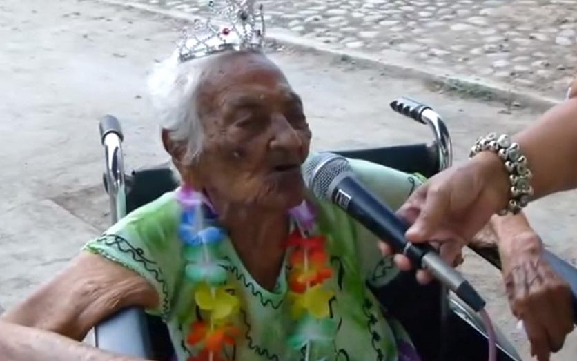 La mujer más longeva de Guerrero cumple 113 años