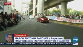Manifestantes Reclaman Ante Cndh Cortes De Agua Tren Interurbano