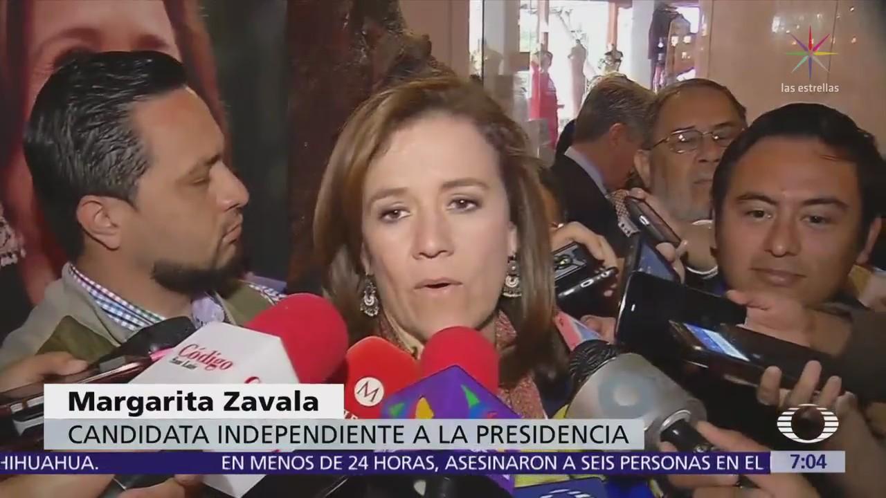 Margarita Zavala devolverá primera parte de recursos públicos de su campaña
