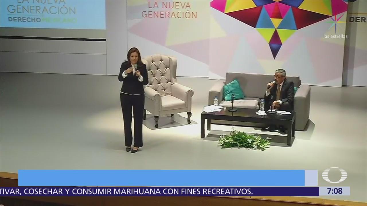 Margarita Zavala se compromete con derechos jurídicos de personas en matrimonios igualitarios
