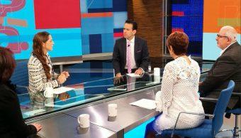 Mariana Boy, Purificación Carpinteyro, Marco Rascón y Lorena Osornio dan sus propuestas en Despierta con Loret
