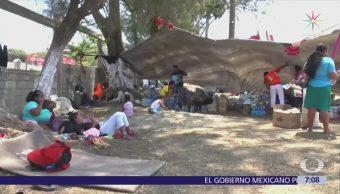 Migrantes afirman que la caravana sigue en camino hacia Estados Unidos