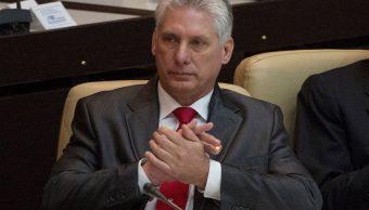 Enrique Peña Nieto felicita al presidente cubano Díaz Canel