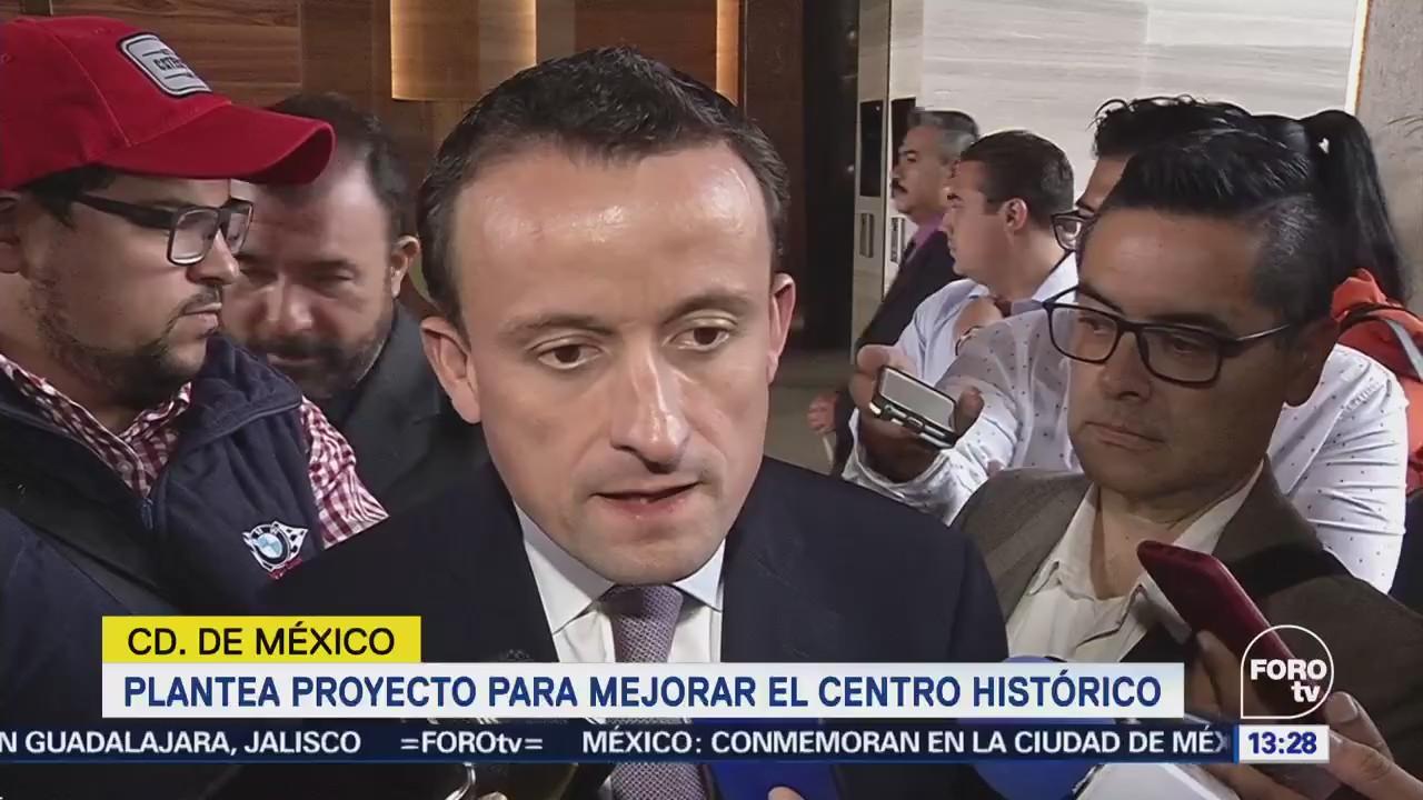 Mikel Arriola Propone Mejorar Centro Cdmx