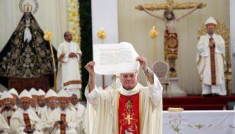 Monseñor Pedro Vázquez toma posesión de la Arquidiócesis de Antequera