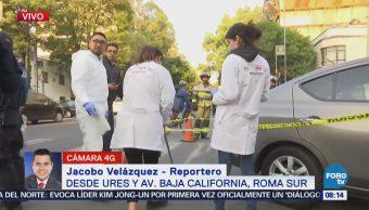 Muere adulto mayor en choque de la colonia Roma Sur, CDMX