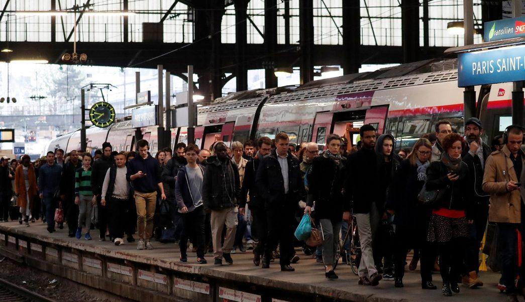 Huelga de trenes en Francia afectará al tráfico internacional el viernes