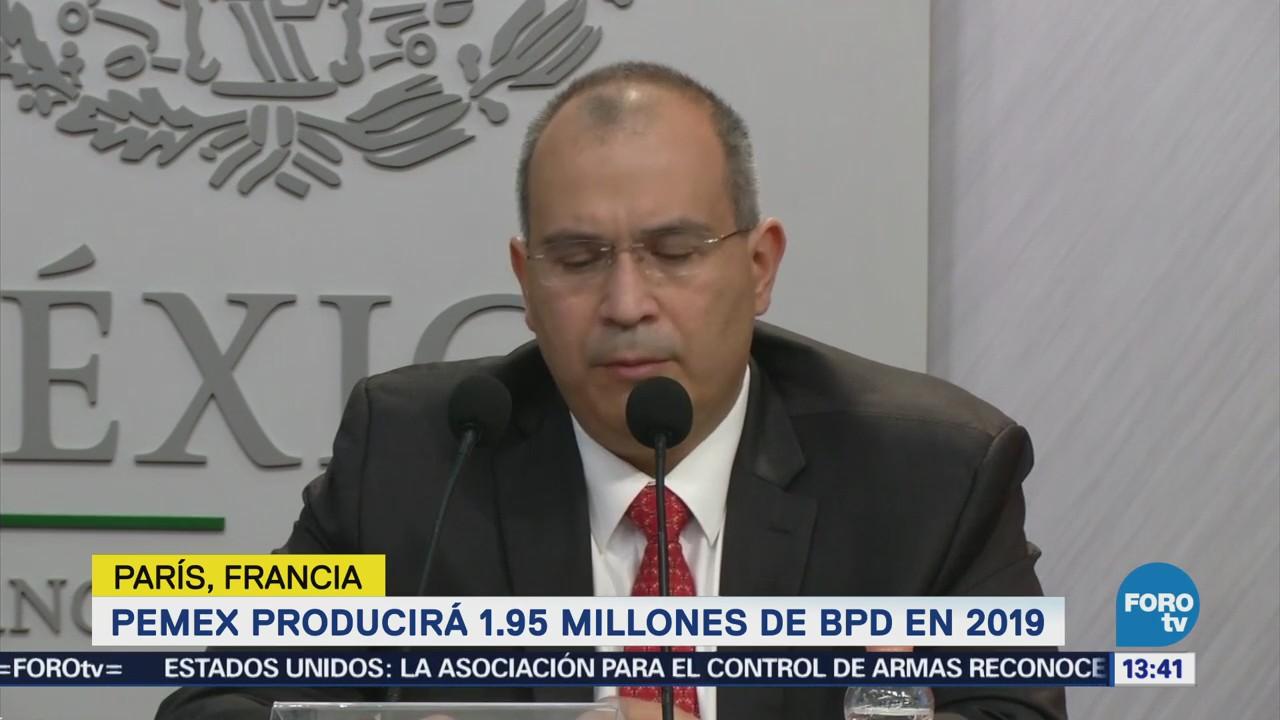 Pemex producirá 1.95 millones de bpd en 2019