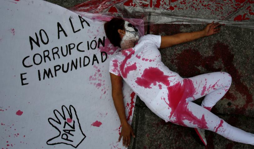 La violencia costó a México el 21% de su PIB en 2017