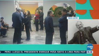 Restos del escritor Sergio Pitol serán cremados en Xalapa