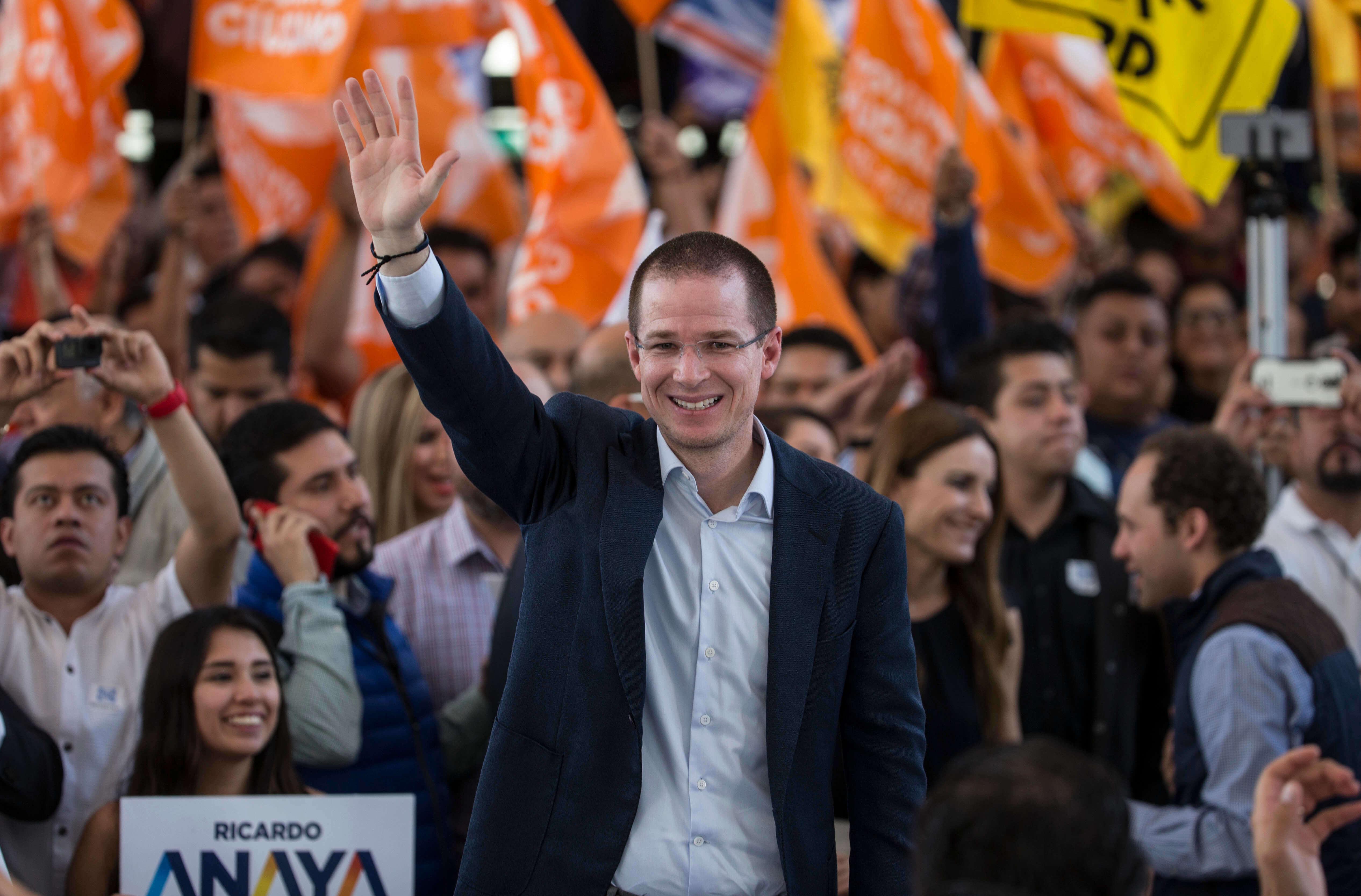 Ricardo Anaya, Anaya, Cierre de Campaña, En vivo