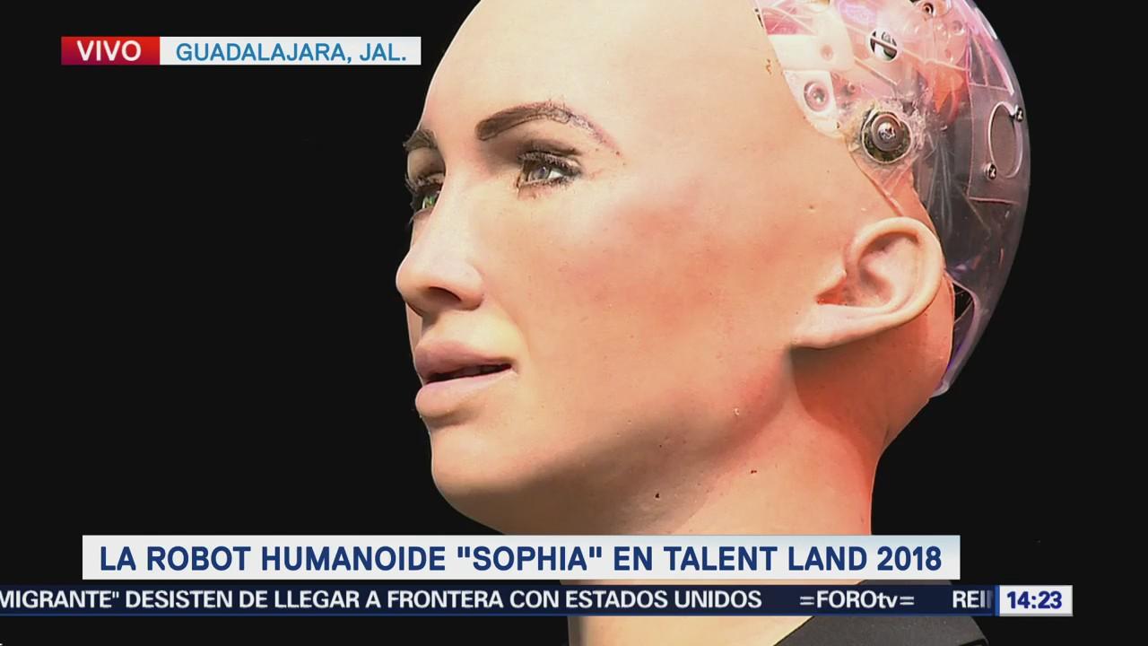 Robot 'Sofia' participa en el 'Talent Land 2018'