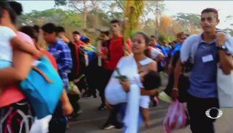 Se dispersa el Viacrucis del Migrante en Oaxaca