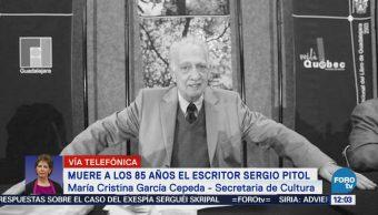 Secretaría de Cultura realizará homenaje nacional a Sergio Pitol