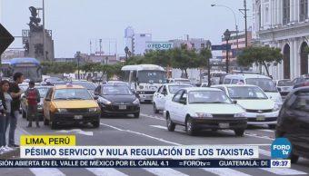 Servicio de taxis en Perú, el peor de Sudamérica