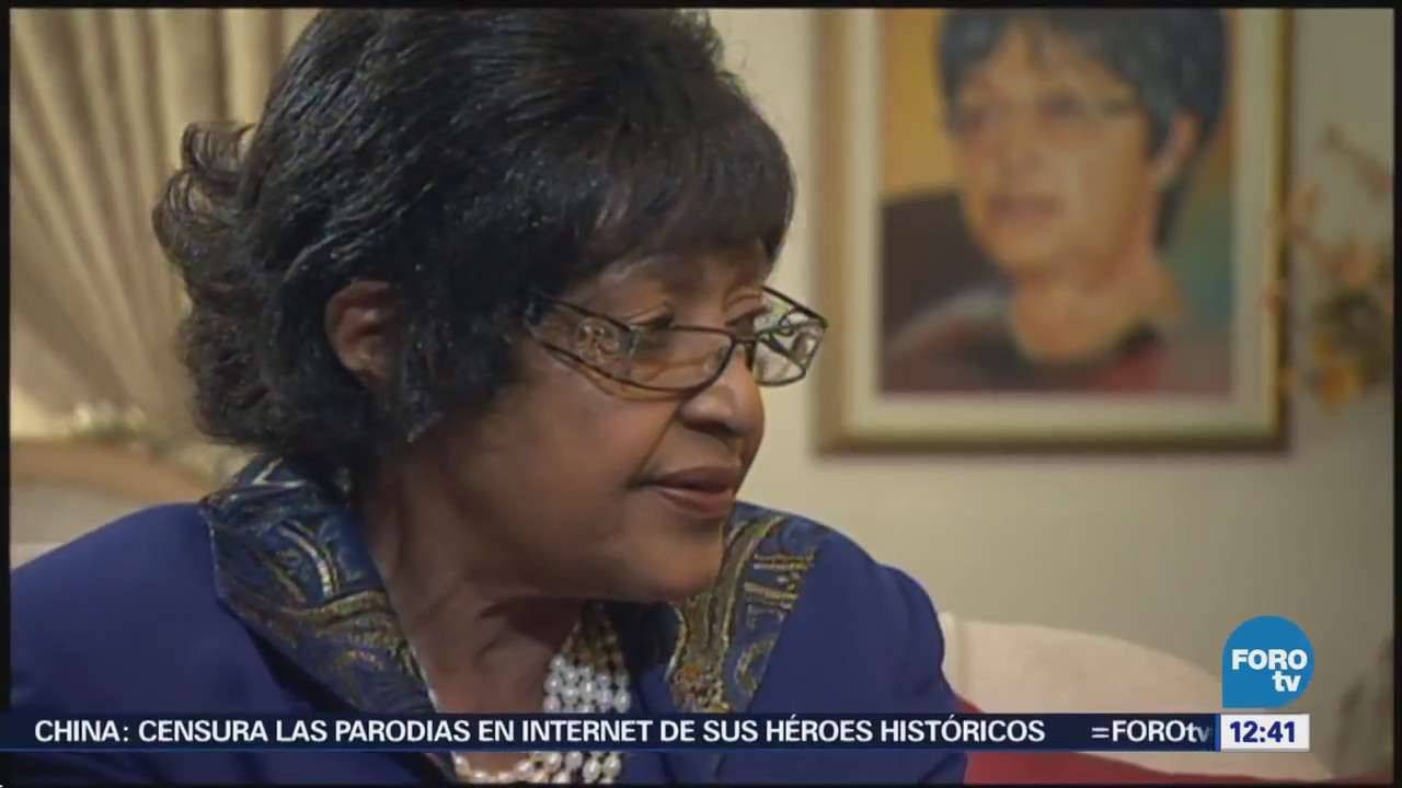 Sudáfrica rinde tributo a Winnie Mandela