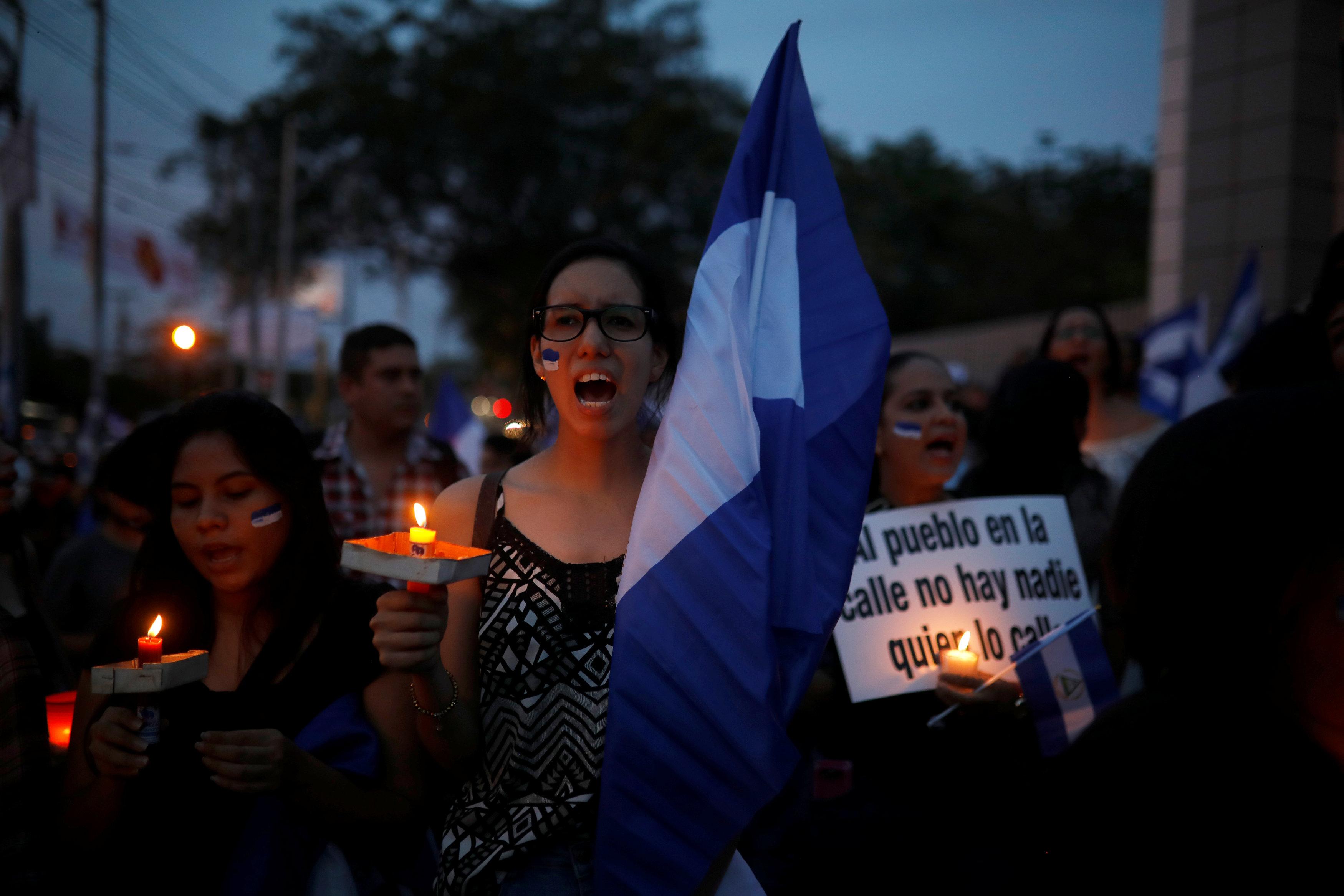 Suman 63 muertos protestas violentas Nicaragua