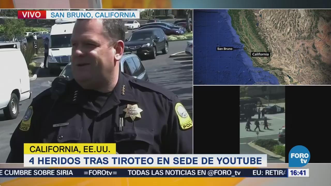 Tiroteo Sede Youtube Continúa Activo