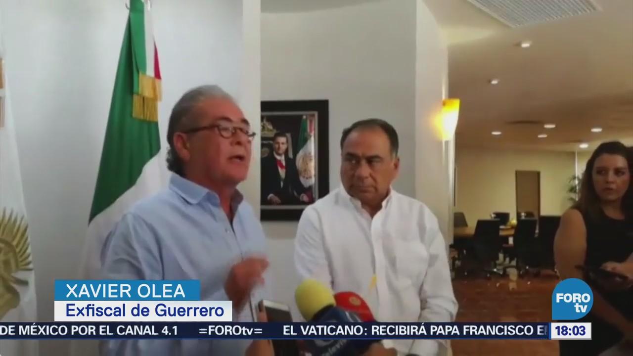 Xavier Olea Renuncia Como Fiscal Guerrero