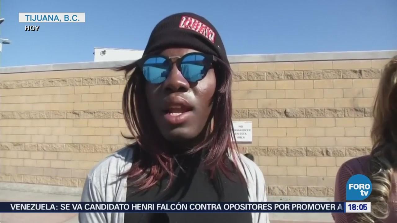 Reciben California Grupo Migrantes Solicitar Asilo