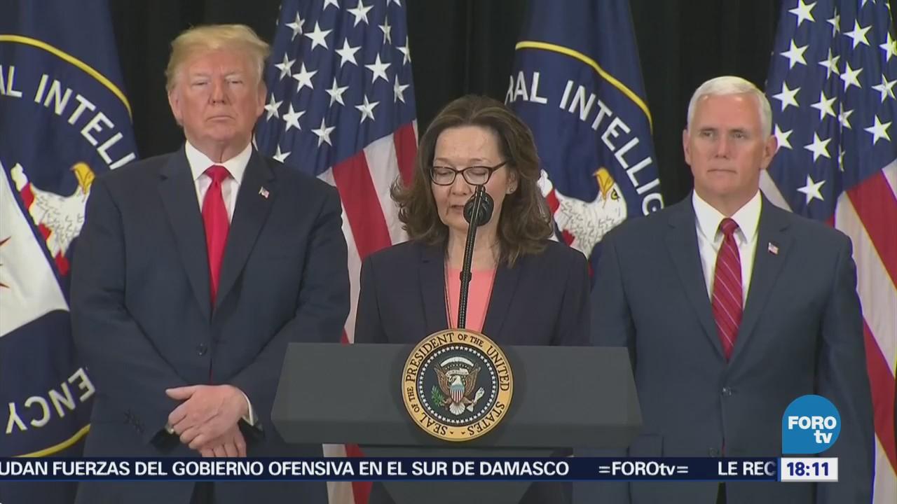 Gina Haspel Nueva Directora Cia