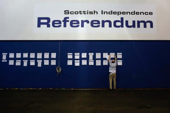 Miles de escoceses reclaman un nuevo referéndum de independencia