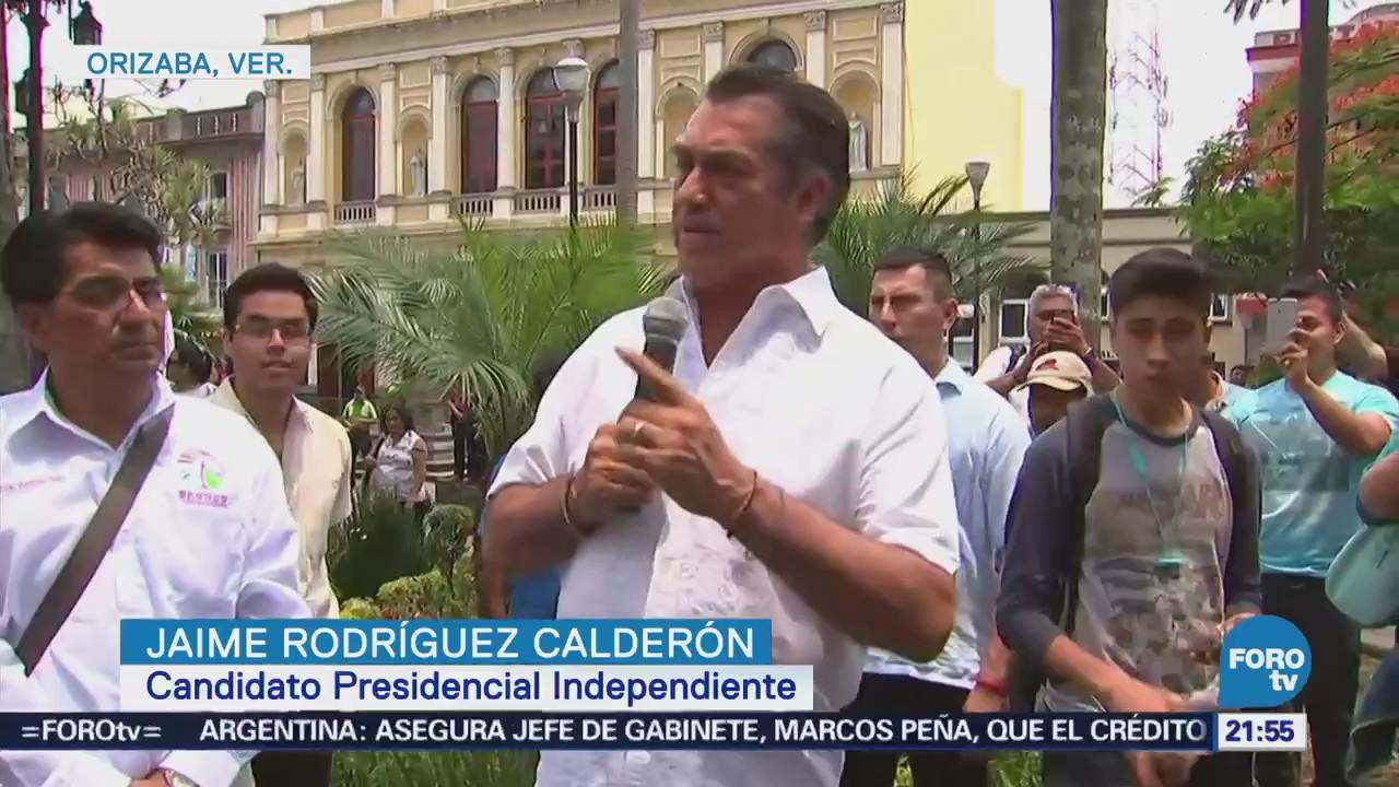 Actividades Jaime Rodríguez Calderón Bronco Veracruz