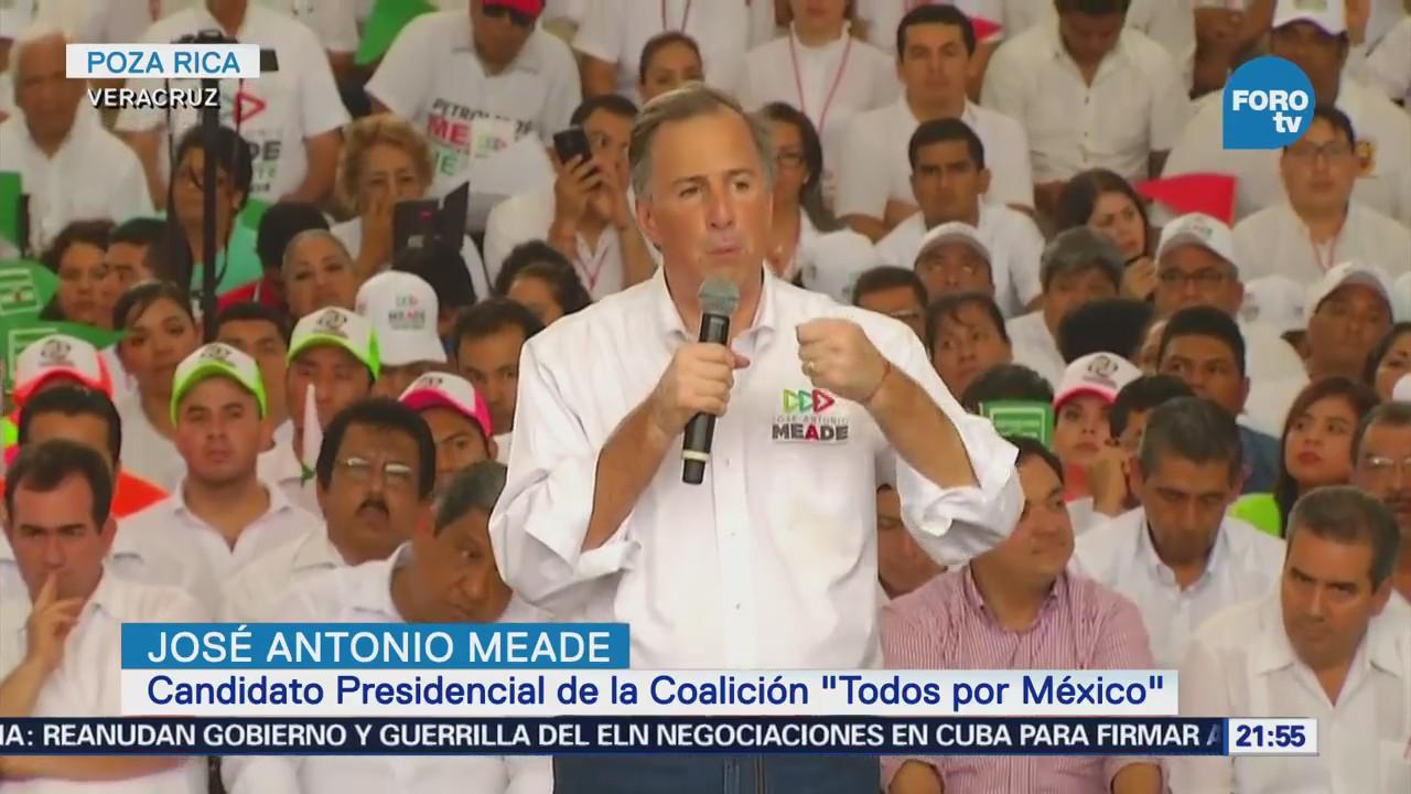 Actividades José Antonio Meade Veracruz